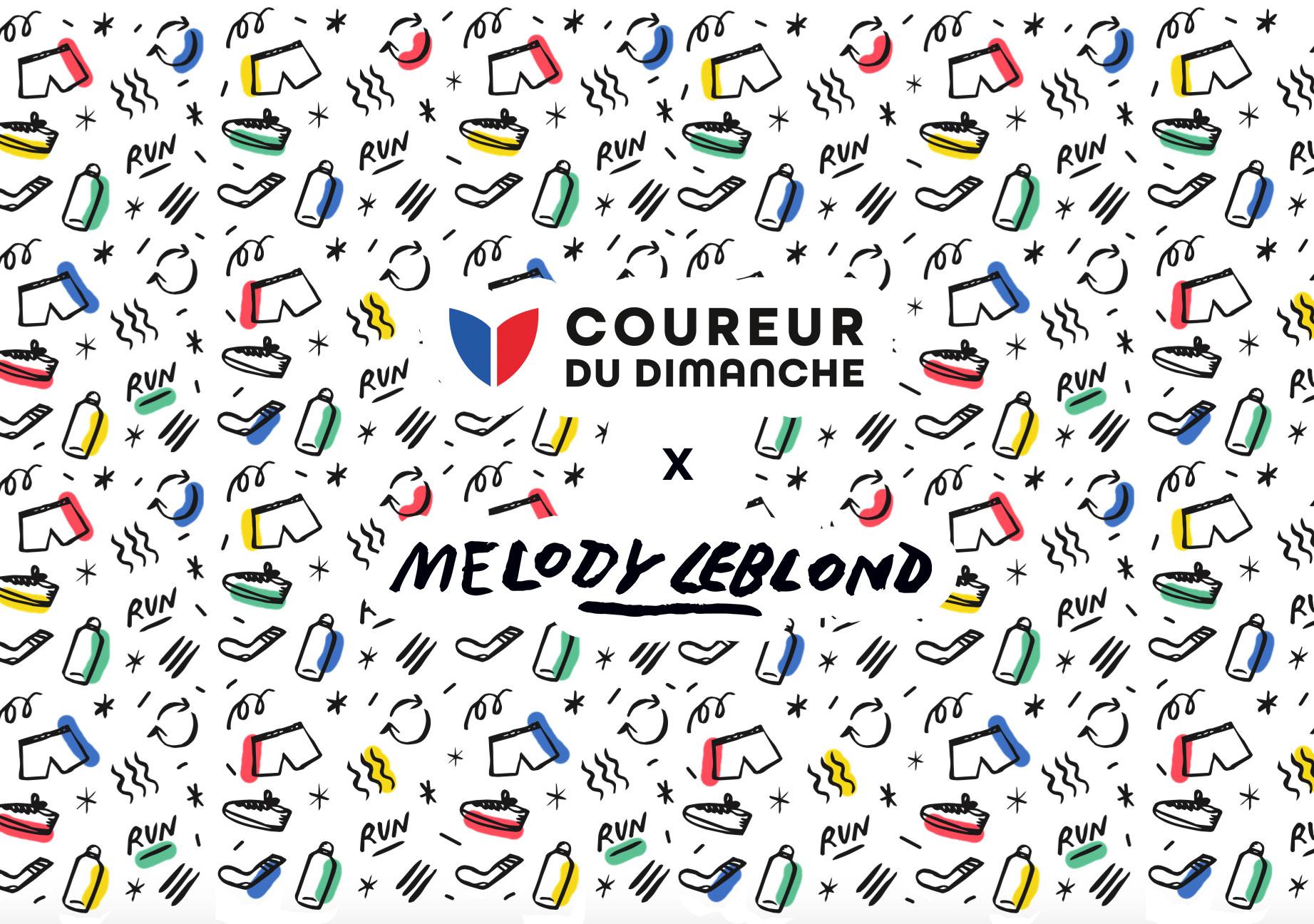 Coureur Du Dimanche-Melody-Leblond