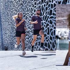 La collection d'automne est disponible maintenant ! 💥  Plongez dans la nouvelle saison avec nos nouveaux tee-shirts de sport recyclés : 4 modèles, 4 imprimés, 4 coloris.  Quel est votre préféré ?  À retrouver en story ou sur le site ⤴️ Passez un bon week-end ! ✌️  #CoureurDuDimanche #CourirAutrement #Run #Running #Recyclé #MadeinFrance #Sport #NouvelleCollection